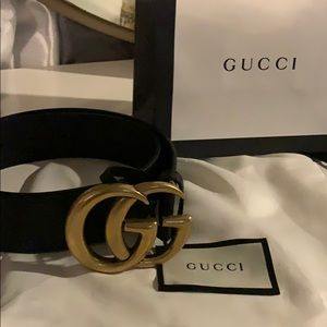 Accessories - Authentic Gucci double G belt with dust bag